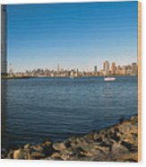 Liberty State Park Wood Print