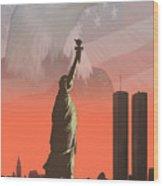 Liberty2 Wood Print