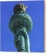 Liberty's Light Wood Print