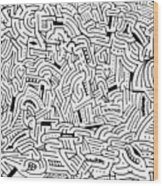 Libidinous Wood Print
