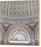 Library Of Congress 1 Wood Print