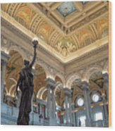 Library Of Congress Wood Print
