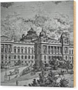 Library Of Congress Proposal 5 Wood Print