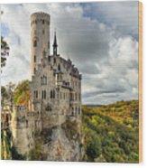 Lichtenstein Castle Wood Print by Ryan Wyckoff