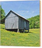 Lieper's Fork Cabin Wood Print