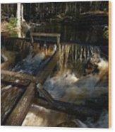 Liesijoki Mill Wood Print
