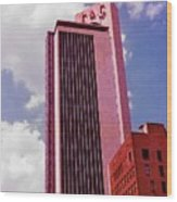 Life And Casulty Tower - Nashville, Tennessee Wood Print