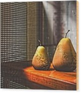 Life As A Pear Wood Print