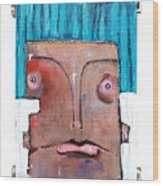 Life As Human Number Six Wood Print
