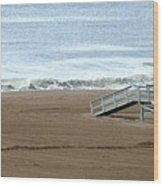 Life Guard Stand - Color Wood Print