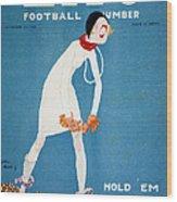 Life: Hold Em, 1925 Wood Print