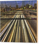 Life In The Fast Lane Wood Print