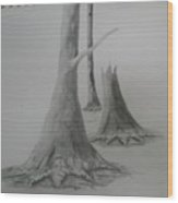 Life Wood Print