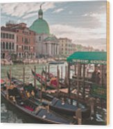 Life Of Venice - Italy Wood Print