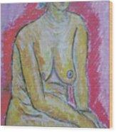 Life Study Of The Female Figure 07 Wood Print