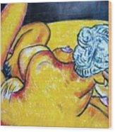 Life Study Of The Female Figure 15 Wood Print