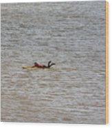 Lifeguard Training Wood Print