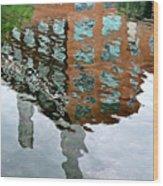Life's Reflections Wood Print