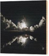 Liftoff Wood Print