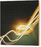 Light 3 Wood Print