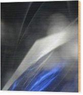''light And Blue Disc No.110'', Thu--17sep2015 Wood Print