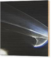 ''light And Blue Disc No.63'', Fri--23oct2015 Wood Print