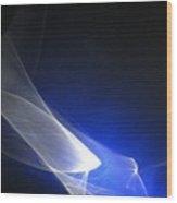 ''light And Blue Disc No.98'', Thu--17sep2015 Wood Print