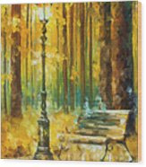 Light And Passion Wood Print