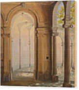 Light At The End Of The Tunnel Monmouth University Wood Print