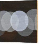 Light Cells Wood Print by Riad Belhimer