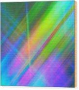 Light Color Hatch Wood Print