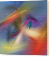 Light Dance 010310 Wood Print