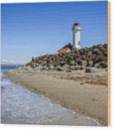 Light House - Port Townsend, Wa Wood Print