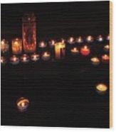 Light In Dark Wood Print