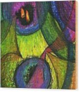 Light In The Darkness Wood Print