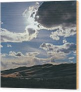 Light In The Distance Wood Print