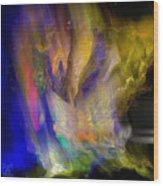 Light Magic Wood Print