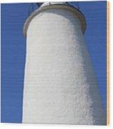 Light Of Ocracoke Wood Print