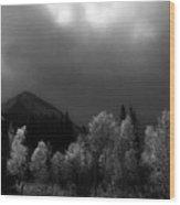 Light Of The Storm Wood Print