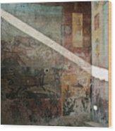 Light On The Past Wood Print