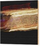 Light Shows II Wood Print