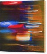 Light Speed Wood Print