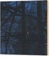 Light Through A Storm Wood Print