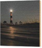 Light Up The Path Wood Print