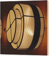 Lighted Wall  Wood Print