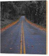 Lighter Paths Wood Print