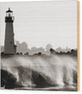 Lighthouse 2 Wood Print