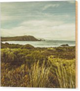 Lighthouse Bay Beach Bruny Island Wood Print