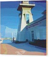 Lighthouse Wood Print