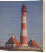 Lighthouse - Id 16217-152035-5938 Wood Print
